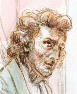 Portrait de Frederic Chopin