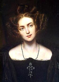 portrait d'henriette sontag par paul delaroche