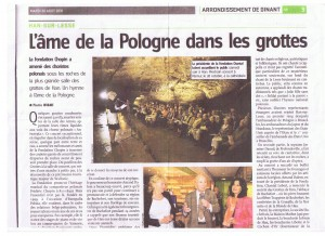 HansLesse - Article de presse - 2011