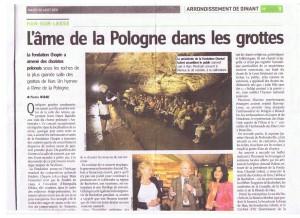 HansLesse - Article de presse - 2011